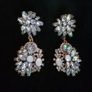 Classic old Hollywood style earrings